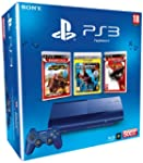 Console PS3 500 Go bleue + Motor Stor...