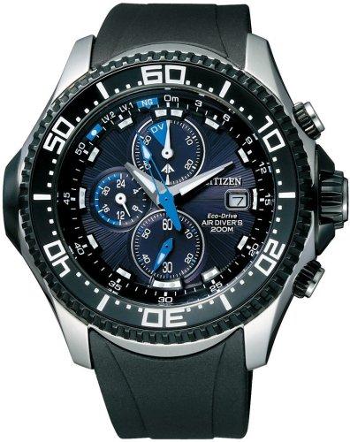 CITIZEN (シチズン) 腕時計 PROMASTER プロマスター アクアランド 水深センサー Eco-Drive エコ・ドライブ ダイバーズウォッチ PMT56-3031 メンズ