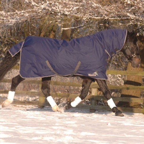Masta Avante 170 Fixed Neck Turnout - Navy, 6 Ft 6 Inch