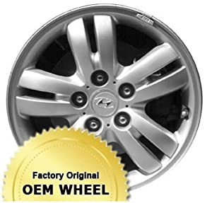 HYUNDAI TUCSON 16X6.5 10 SPOKE Factory Oem Wheel Rim- SILVER – Remanufactured