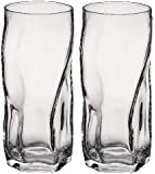 Bormioli Rocco Sorgente Tumbler Glasses - 460ml (16oz) - Set of 2