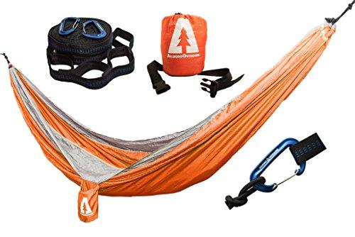 allegro-outdoors-ripstop-double-camping-hammock-and-tabono-tree-strap-bundle-orange-lt-gray