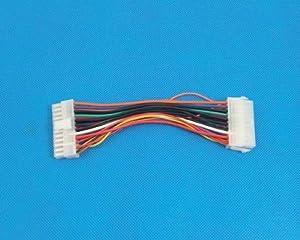 「200」BTX電源24pinメス から ATXマザー20pinオス 変換ケーブル-526007