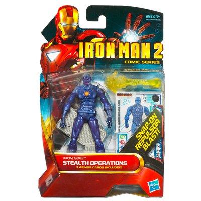 Iron Man 2 Comic  Stealth Operations Iron Man Action Figure (Iron Man Action Figure )