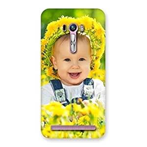 Special Laughing Baby Girl Back Case Cover for Zenfone Selfie