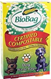 BioBag Dog Waste Compostable Bags, 50-Count Bags (Pack of 4)