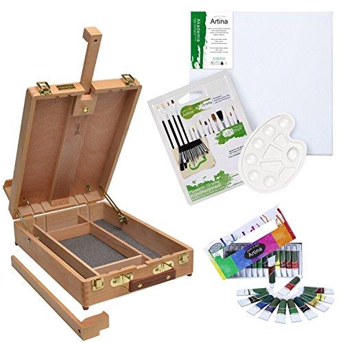 ensemble-pour-peinture-mallette-chevalet-edinburgh-daler-rowney-12-tubes-de-peinture-acrylique-inclu