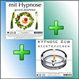 MIT HYPNOSE GESUND ABNEHMEN + HYPNOSE ZUM NICHTRAUCHEN (Hypnose-Audio-CDs) --&gt; keine Gewichtszunahme fr frische Nichtraucher, und keine Chance fr Nikotinsucht beim Abnehmen! (NUR FR KURZE ZEIT)von &#34;www.praxis-hamburg...&#34;