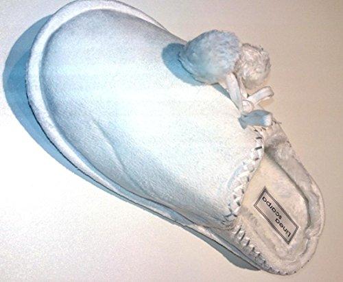linea-scarpa-articulos-restantes-venta-pantuflas-warm-con-piel-sintetica-tux-mujer-blanco-blanco-38-