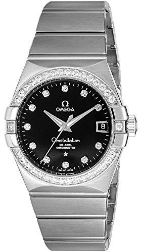 [オメガ]OMEGA 腕時計  コンステレーション コーアクシャル自動巻 K18WG無垢 123.55.38.21.51.001 メンズ 【並行輸入品】