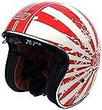 Origine helmets 202537018100105 Jethelme Sprint Japanese Bobber, Größe : L, Mehrfarbig