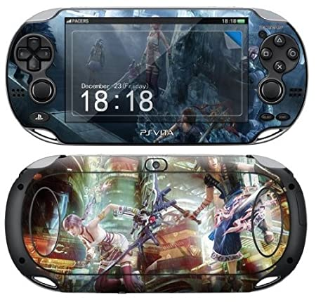 Sony PS Vita FINAL FANTASY Protective Vinyl Skin Decal Set