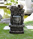 Pandia Urns Pouring Water Feature - GGO63