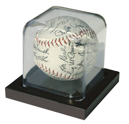 MCS Baseball or Hockey Puck Display Case (Lucite Display Case compare prices)