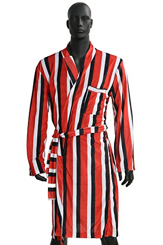 XCOSER Movie DP Bathrobe Wade Costume For Adult Halloween Size L (Adult Deadpool Costume)