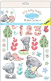 Me To You Tatty Teddy Wall Stickers - Vintage (Pack of 52)