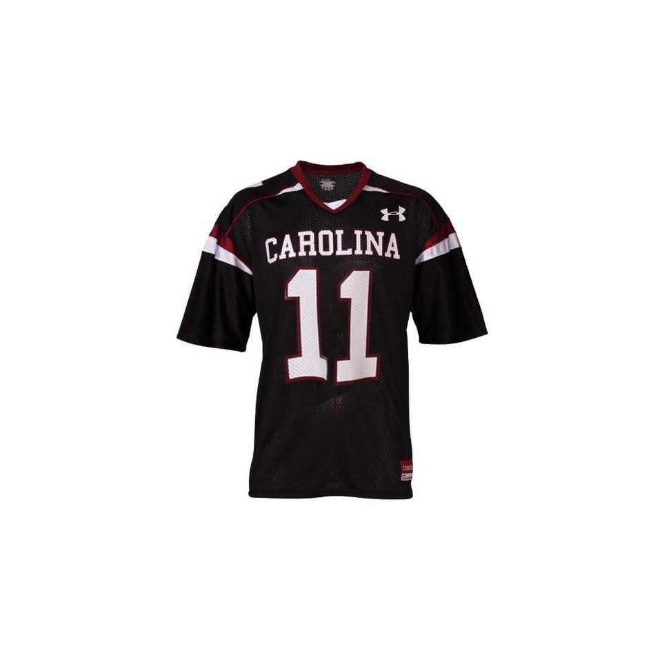 com Under Armour South Carolina Gamecocks #11 Black Replica Football