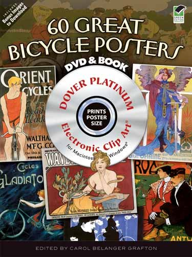 Vintage Bicycle Posters CD-ROM and Book (Dover Electronic Clip Art)