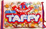 Fairtime (SUGAR) 10 Flavors Salt Water Taffy, 16 oz