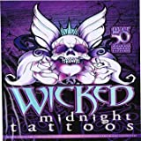 Wicked Midnight Over 50 Temporary Tattoos