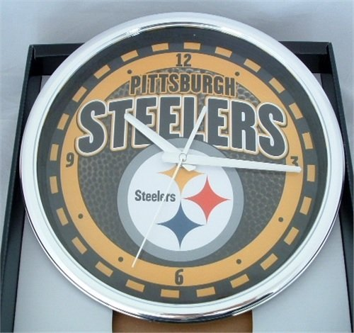 Steelers Wall Clocks Pittsburgh Steelers Wall Clock