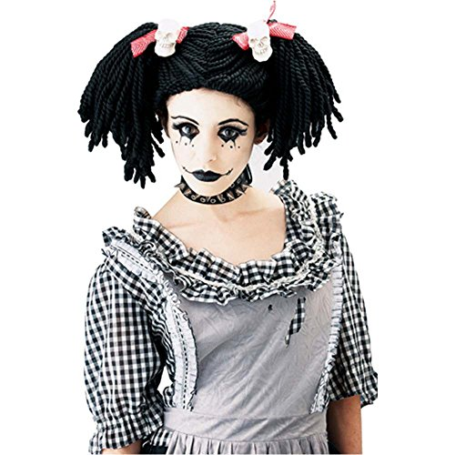 Gothic Rag Doll Adult Wig