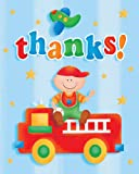 Fun At One Boy Thank You Cards (Pack Of 8)