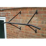 Wall Mounted pull up chin up bar Rock solid frame holds up to 200Kg