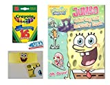 Spongebob Oh, Buoy Coloring & Activities Book and Band, and 16 Crayola Crayons Box (Pack of 3)