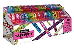 Removable & Repositionable Decorative Tapeffiti Tapes