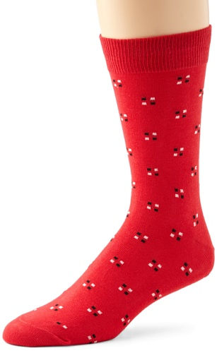Richer Poorer Men's Pundit Socks, Red, One Size