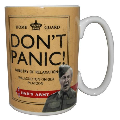 Dad's Army - Don't Panic! Coffee / Tea Mug Gift Set