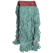 Boardwalk LM30314L Green Wide Band Large Blended Loopend Mop (Case of 12)