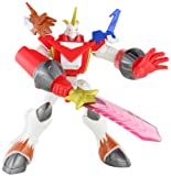 Digimon Fusion Deluxe Digiaction Figure: Shoutmon X4