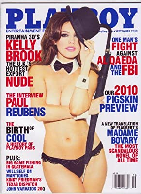 PLAYBOY Magazine (Sept 2010) KELLY BROOK The U.K.'s Hottest Export