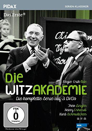 Die Witzakademie / Die komplette 5-teilige Serie mit Theo Lingen, Heinz Erhardt und Kurt Schmidtchen (Pidax Serien-Klassiker) [2 DVDs]