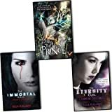Julie Kagawa Julie Kagawa 3 Books Collection Pack Set (The Immortal Rules, The Eternity Cure, The Lost Prince (The Iron Fey))