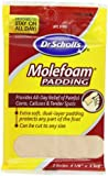 Dr. Scholl's Molefoam Padding, Men's and Women's, 2-Count Packages (Pack of 8)