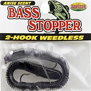 Amazon.com : K&E Fish Lures Soft Weedless Bass Stopper