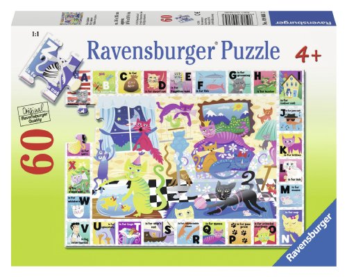 Ravensburger Kitty Alphabet Puzzle (60-Piece)