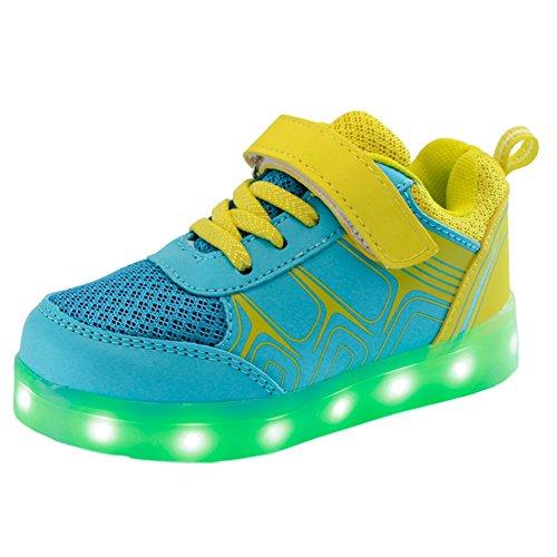 Zapatos-Colorido-LED-de-la-moda-Zapatillas-Luces-de-los-nios-Zapatillas-deportes-Hightech