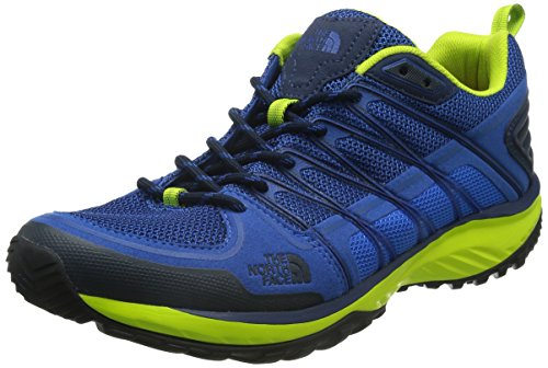 The North FaceM LITEWAVE EXPLORE - Scarpe da trekking e da passeggiata Uomo , Blu (Blau (GNP-BLUE QUARTZ/LANTERN GREEN)), 42.5