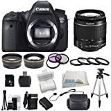 Canon EOS 60D DSLR Camera Bundle Kit with SSE Essentials Package: Featuring Canon EF-S 18-55mm f/3.5-5.6 IS II also Includes: 0.43x Wide Angle Lens & 2.2x Telephoto HD Lens, 3 Piece Filter Kit & 4 Piece Macro Lens Kit, Extra LP-E6 Replacement Battery & Travel Charger, 8GB SDHC Memory Card & Reader, Deluxe Carrying Case and Much More