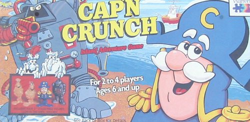 Cap'n Crunch Island Adventure Game - 1
