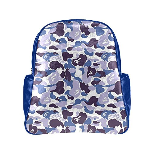 [HuaT Army of Hugs Blue Multi Pocket Backpack] (Indian And Pilgrim Costumes)