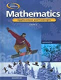 img - for Glencoe Mathematics Applications and Concepts Course 2 by Bailey;Price;Day;Howard;Willard;Ott;Frey;Moore-Harris;McClain;Pelfrey (2004-01-01) book / textbook / text book