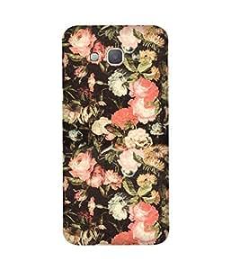Multiple Flowers Samsung Galaxy A8 Case