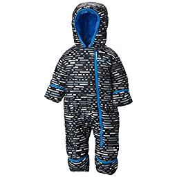Columbia Baby-Boys Infant Frosty Freeze Bunting, Black Print, 18-24 Months