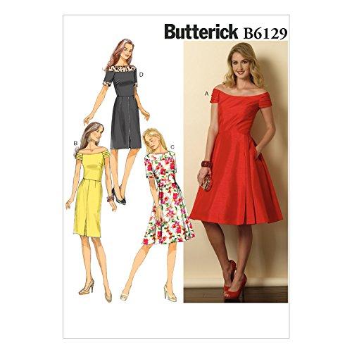 vogue-patterns-6129-a5-patrones-de-costura-para-vestido-de-mujer-tallas-32-a-40