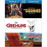 Goonies, The / Gremlins / Gremlins 2: The New Batch (BD) (3FE) [Blu-ray] (Color: color)